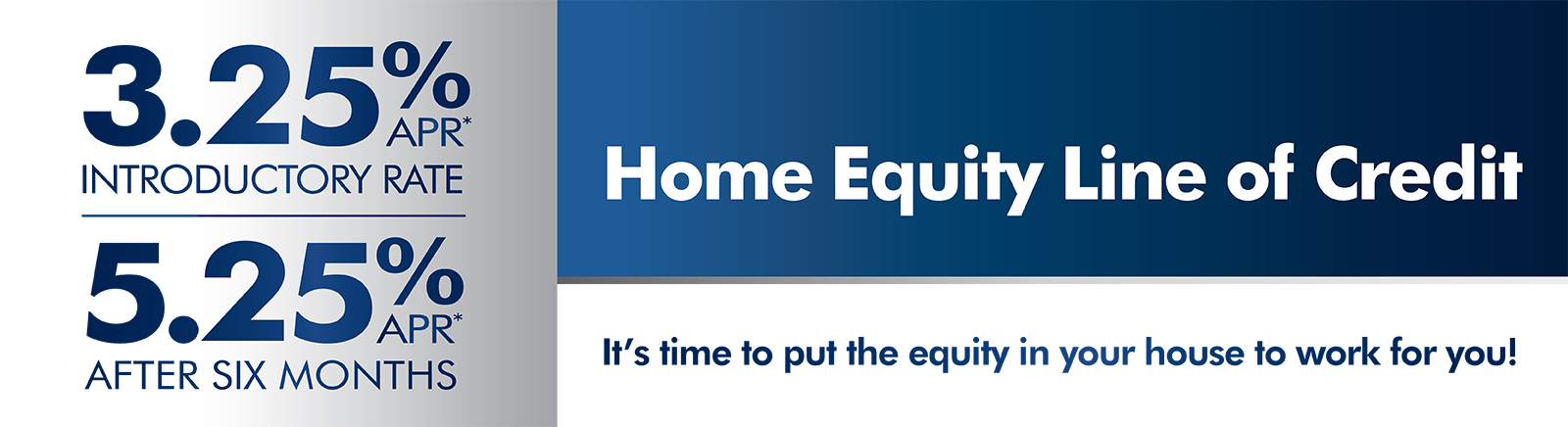 Home Equity rate special