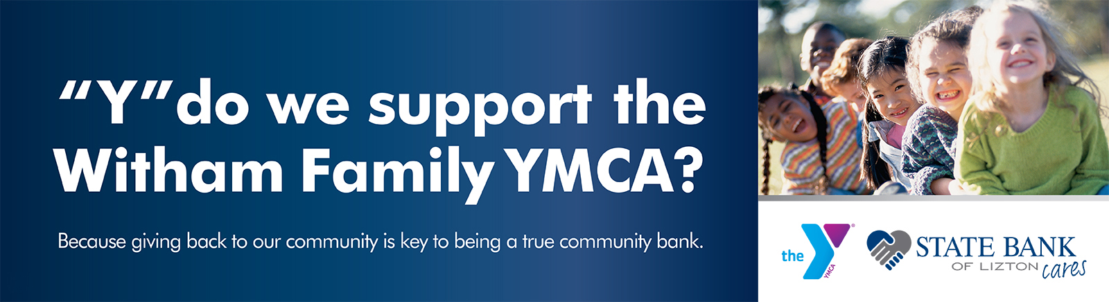 We support the Boone County YMCA