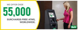ATM User: 55,000 Worldwide ATMs Surcharge Fee